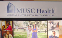 Photo of MUSC Booth