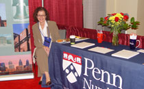 Photo of Univ. of Pennsylvania Booth