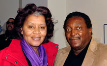 Mrs. Jacqueline Brown and Dr. Reinhardt Brown