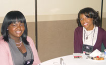 Ms. Monique Hill and Ms. Claudia Cartledge