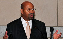 Mayor Michael A. Nutter