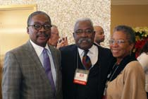 Dr. David E. Rivers, Reverend Jimmy Gallant, Honorable Donna Christensen
