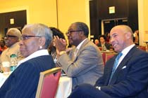 Honorable Jimmy Gallant,, Dr. David E. Rivers, Lloyd Moore